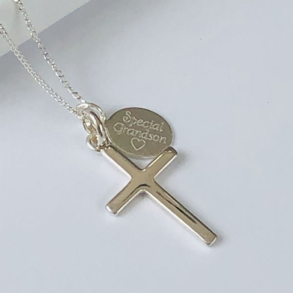 Holy Communion gift for a grandson - FREE ENGRAVING